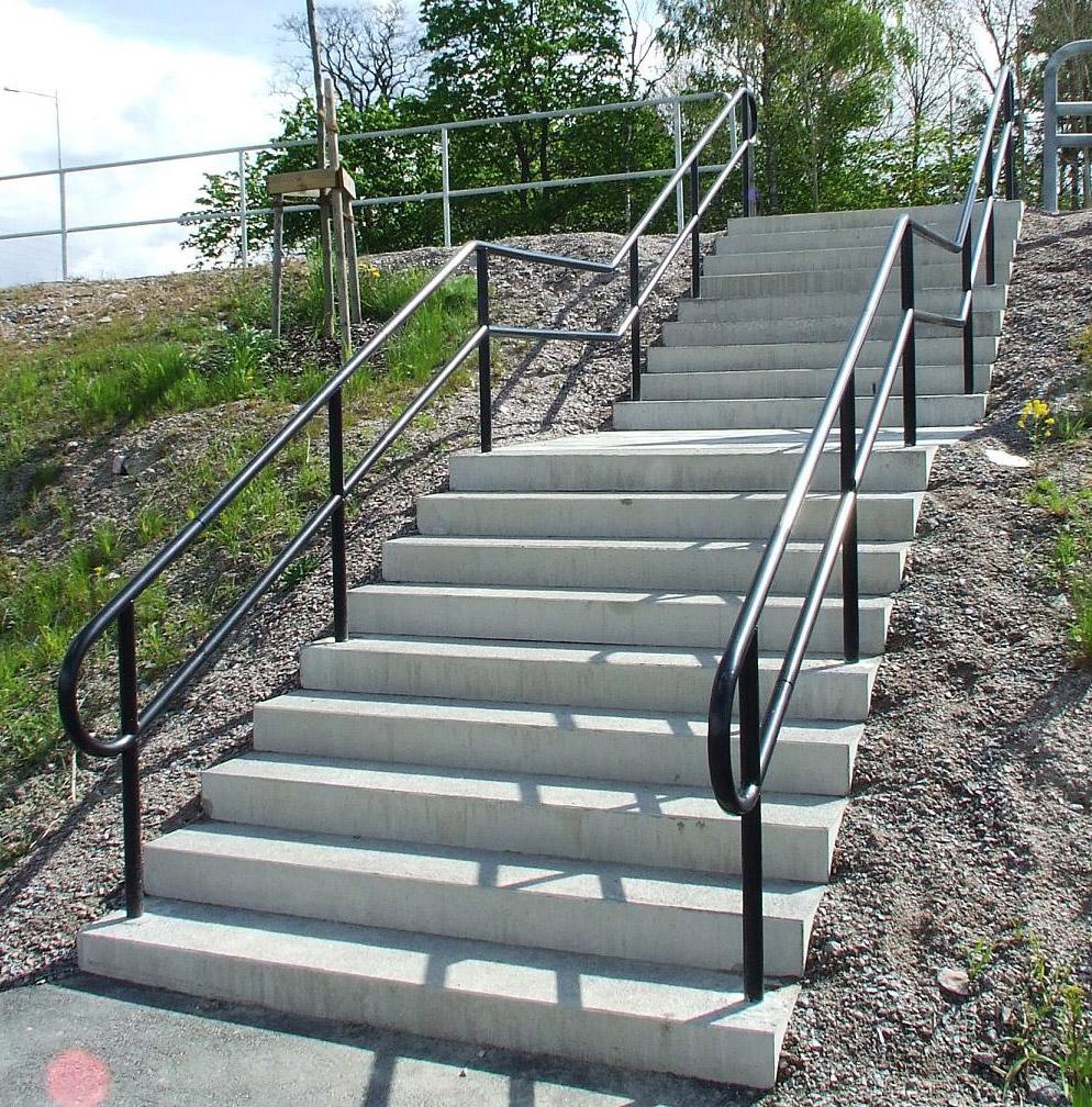 trappräcke höjd standard