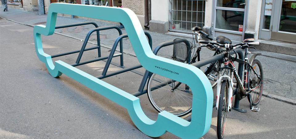 Car Bike Port cykelställ - Saferoad Smekab