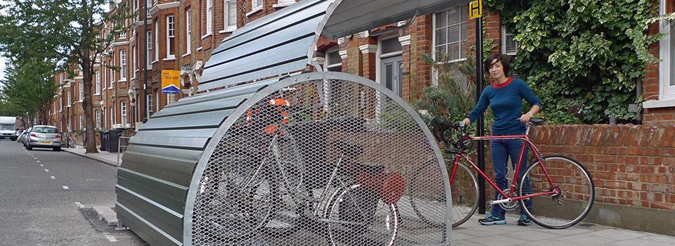 \u00bb Cykeltak och cykelgarage Saferoad Smekab AB