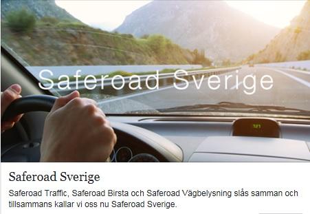 Saferoad Sverige bildas