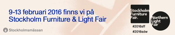 Saferoad Smekab medverkar på Stockholm Furniture Fair 2016