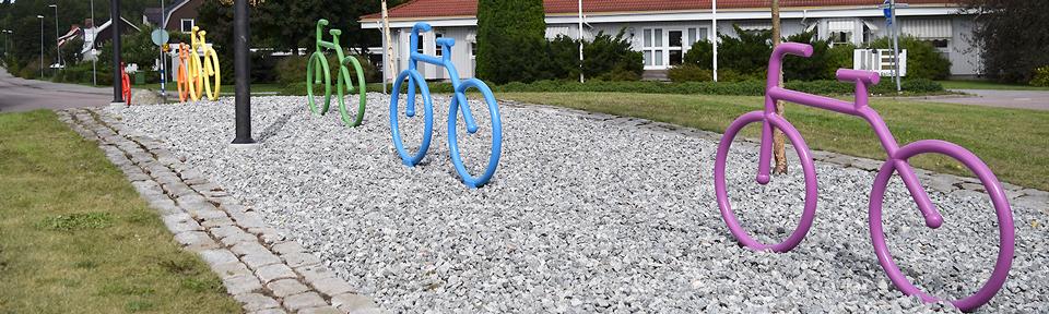 BAJK i cykelkonst, Bultenströmmen Hallstahammar.