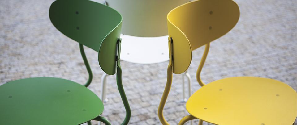 Bohém stadsmöbel och andra nyheter visas på Stockholm Furniture Fair 2019.
