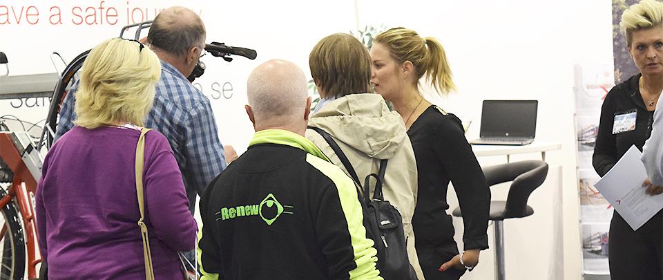 Saferoad Smekab på Bostadsrättsmässan i Malmö, Oktober 2016