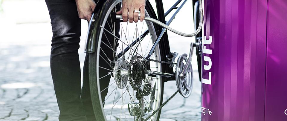 CanAir cykelpump - Smekab Citylife