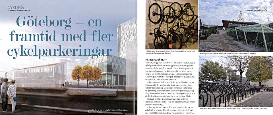 Framtid med fler cykelparkeringar