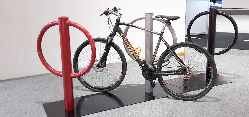 PONDUS cykelställ/cykelpollare premiärvisas. Nyhet höst 2015.
