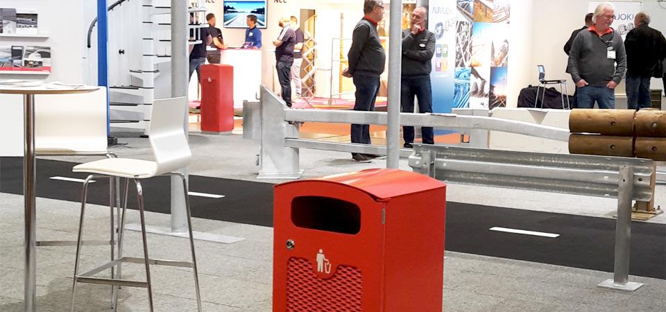 TACK 60-liters papperskorg. Nyhet höst 2015.