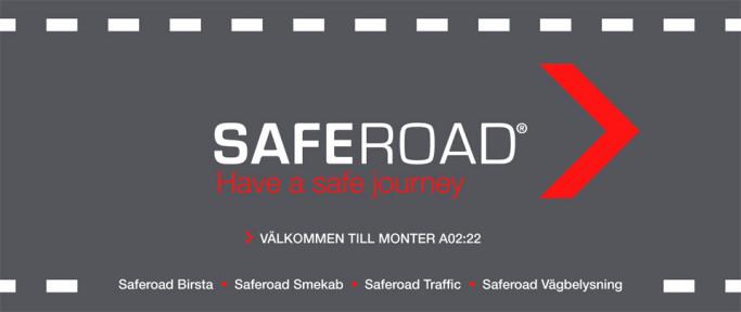 Välkommen till Saferoad Smekab på Elmia Nordic Road 2015