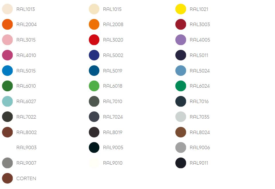 Färger Standard