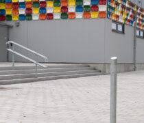 Kristianstads Arenaområde, Diagonal pollare och Flexi räcke, Smekab Citylife.