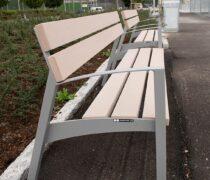 Kristianstads Arenaområde, Vera parkmöbel/soffa och Tack papperskorg, Smekab Citylife.