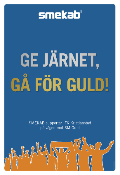 Annons i IFK-bilaga Kristianstadbladet 20150523
