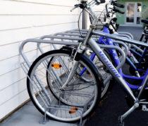 CS cykelställ med ramlåsning.