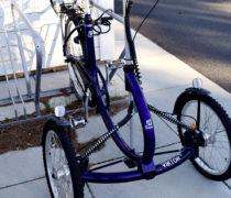 CS cykelställ med ramlåsning
