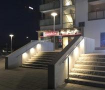 OPTI räcke. Munksjöstaden i Jönköping.