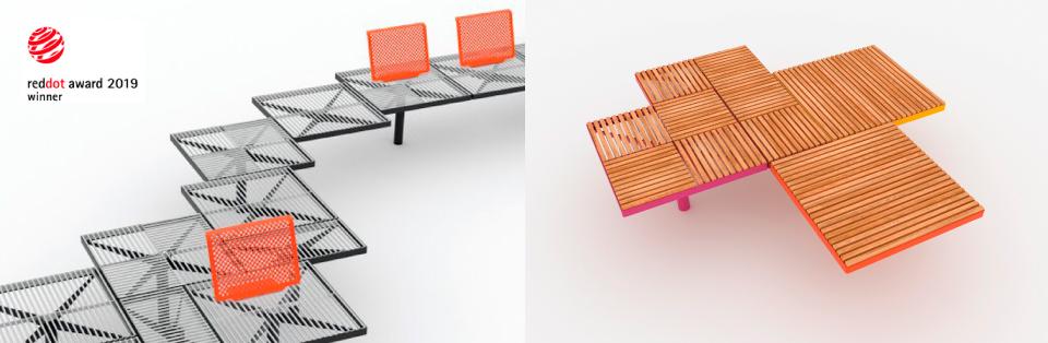 PIXEL möbelserie tilldelas Red Dot Design Award 2019