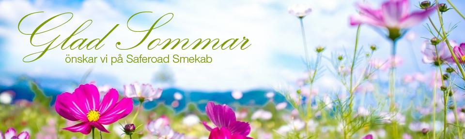 Glad sommar önskar Saferoad Smekab