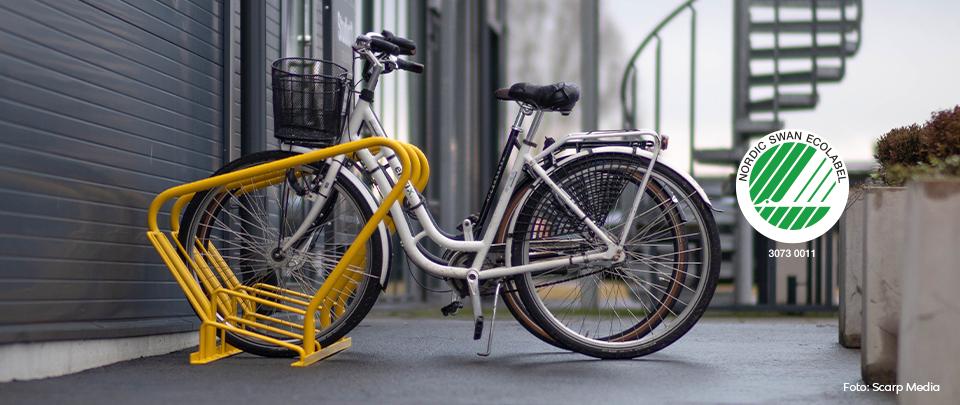 Svanenmärkta cykelställ