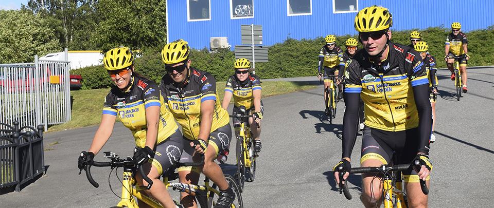 Besök av Team Rynkeby Kristianstad